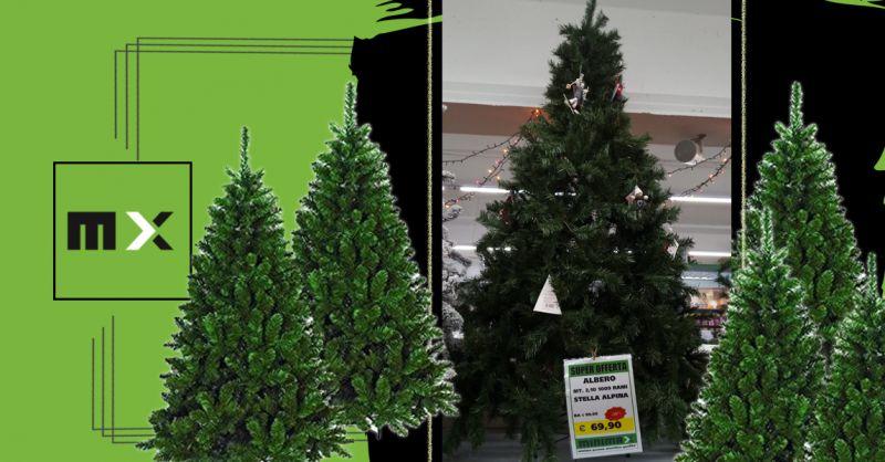Offerta Alberi di Natale artificiali in sconto Cagliari - Occasione addobbi alberi di natale Cagliari