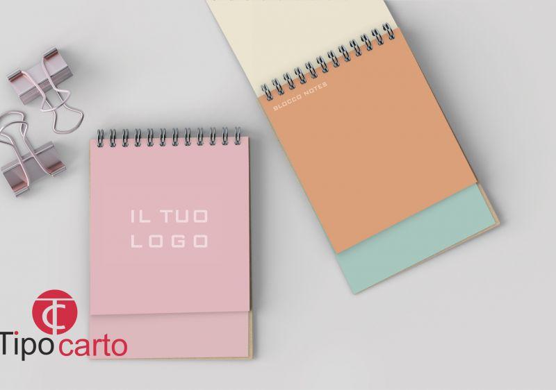TIPOCARTO offerta blocco notes personalizzato - promozione blocco pubblicitario con logo