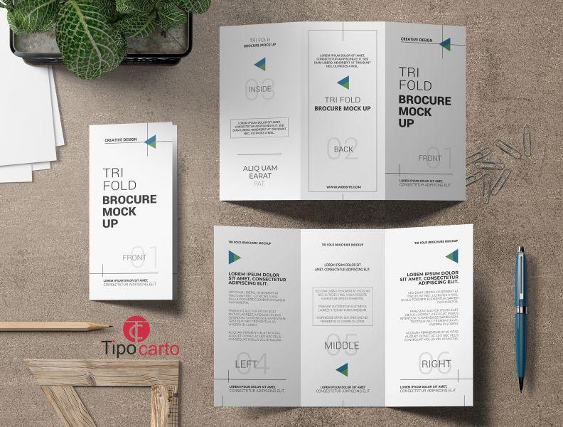 TIPOCARTO offerta progettazione depliant - promozione stampa volantini personalizzati