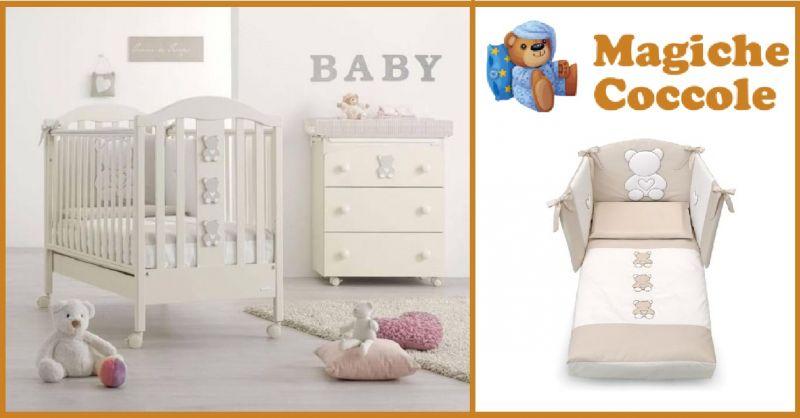 MAGICHECOCCOLE.COM - offerta vendita online cameretta Company Azzurra Design colore avorio