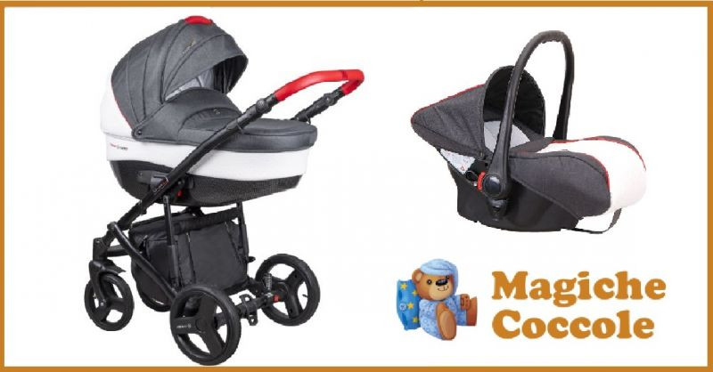 MAGICHECOCCOLE.COM - Occasione vendita online passeggino Trio Modello Florino New Coletto