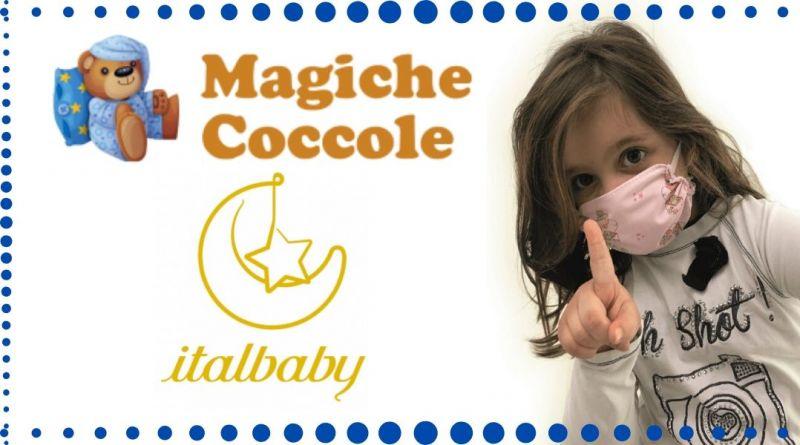 MAGICHE COCCOLE - Offerta vendita online mascherina per bimbi  filtrante protettiva covid-19 coronavirus