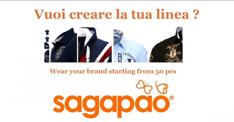 SAGAPAO - Offre entreprise leader en Italie PRODUCTION VÊTEMENTS SUR MESURE PERSONNALISÉS