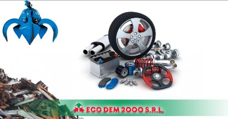 Ecodem 2000 - Offerta servizio professionale autodemolizioni Massa Carrara demolizioni auto