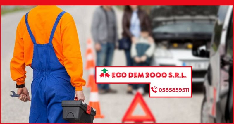 Ecodem 2000 - Occasione servizio professionale ritiro auto e mezzi in panne da rottamare