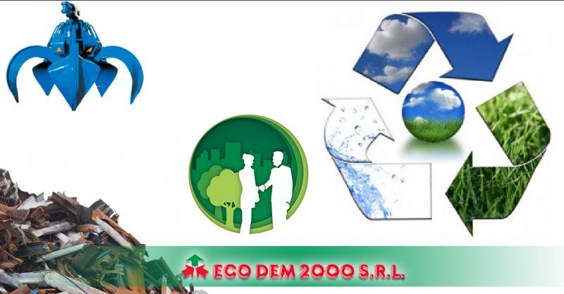 Ecodem 2000 - Occasione servizio staff qualificato gestione smaltimento rifiuti non pericolosi