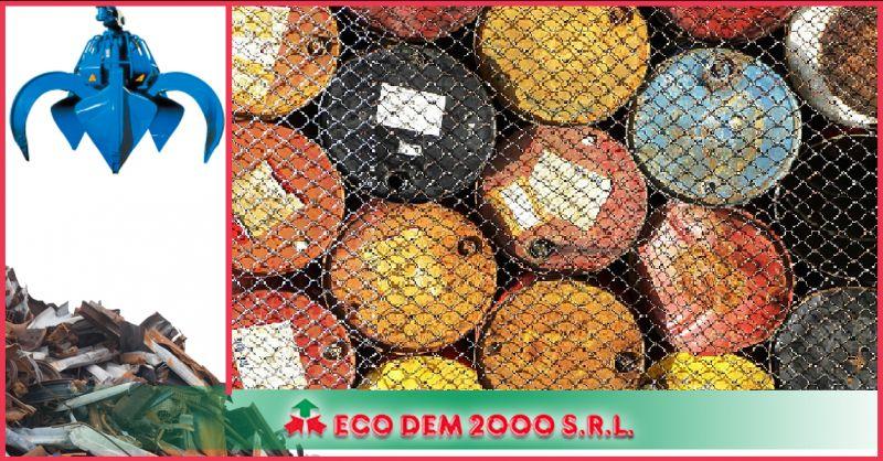 Ecodem 2000 - Occasione azienda specializzata gestione smaltimento rifiuti pericolosi