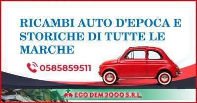ecodem 2000 offerta vendita ricambi e componenti auto fuori produzione auto depoca storiche