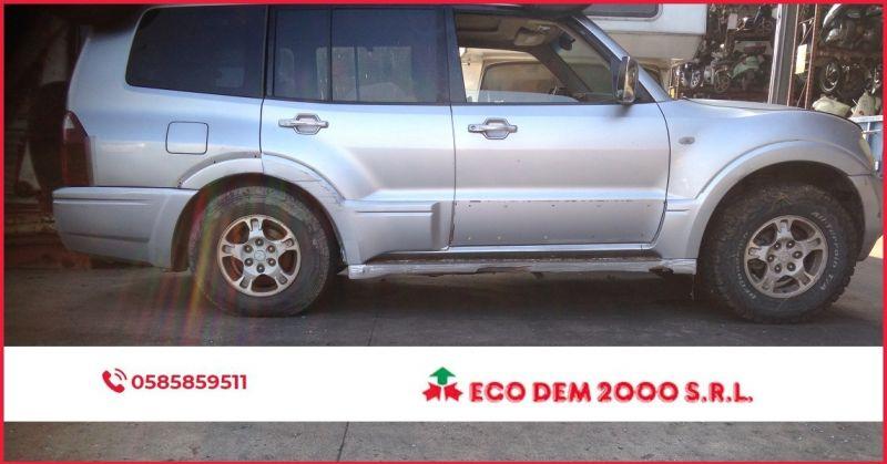 ECODEM 2000 - Offerta vendita ricambi auto per mitsubishi pajero anno 2004 cilindrata 3.2