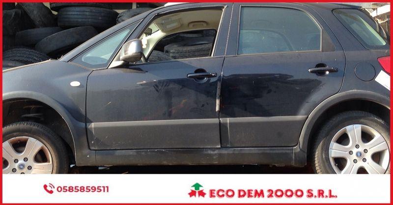 ECODEM 2000 - OCCASIONE RICAMBI FIAT SEDICI ANNO 2007 CILINDRATA 1.9 DISPONIBILE SOLO RICAMBI