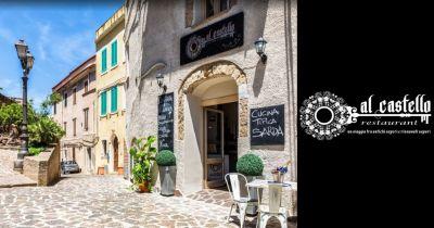 offerta pranzo e cena ristorante romantico al castello dei doria castelsardo