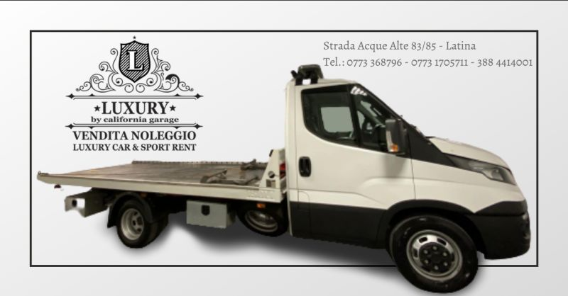 LUXURY GARAGE - offerta servizio di soccorso stradale aprilia