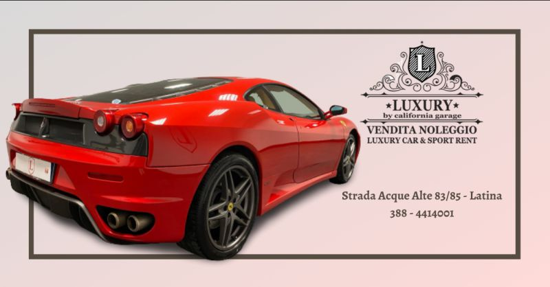 LUXURY GARAGE - offerta noleggio supercar latina