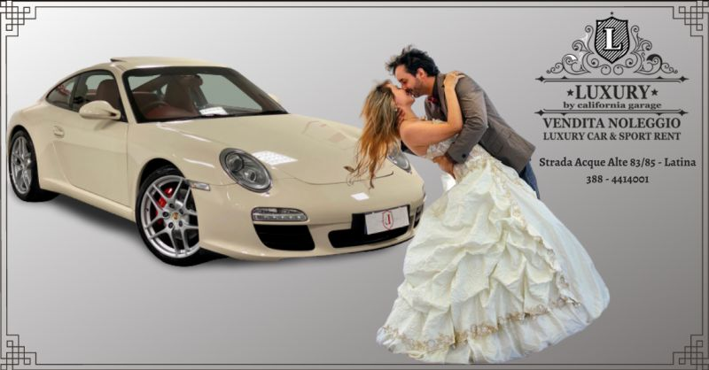 LUXURY GARAGE - offerta auto da cerimonia a noleggio aprilia