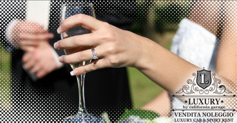 LUXURY GARAGE - Occasione autonoleggio matrimonio con conducente Aprilia