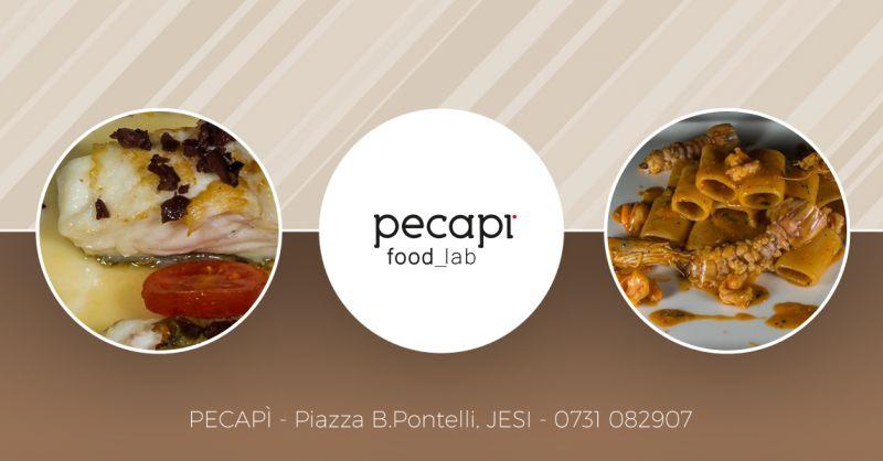offerta Pecapi ristorante centro storico jesi - occasione ristorante specialità di pesce jesi