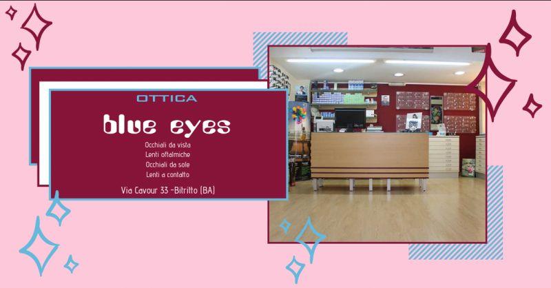 Ottica blue eyes promozione test digitalizzato vista bari - offerta occhiali da vista bari