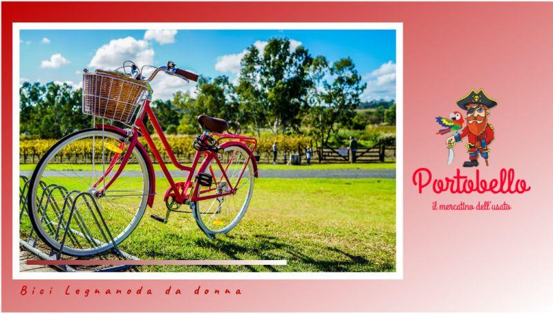Portobello offerta bici legnano donna bari - promozione bici da donna legnano bari