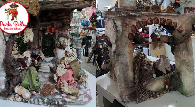 Offerta presepe artigianale in cartapesta Bari – Promozione presepe artigianale con natività Bari