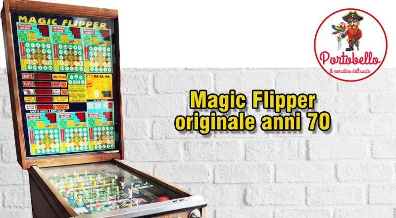 Offerta flipper originale anni 70 Molfetta Bari – Promozione bingo magic flipper originale Molfetta Bari