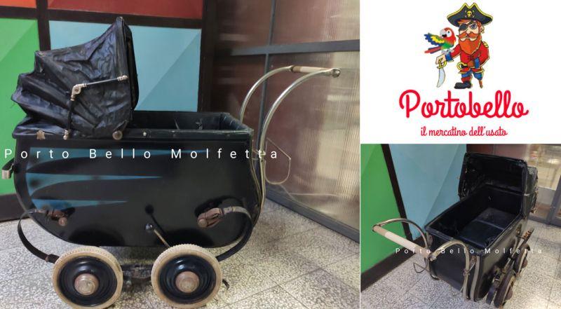 Offerta carrozzina anni 30 originale Molfetta Bari – Promozione carrozzina per bambini vintage Molfetta Bari