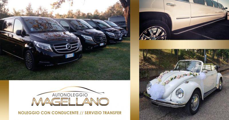 offerta noleggio auto con conducente ancona - occasione servizio transfer navetta ancona