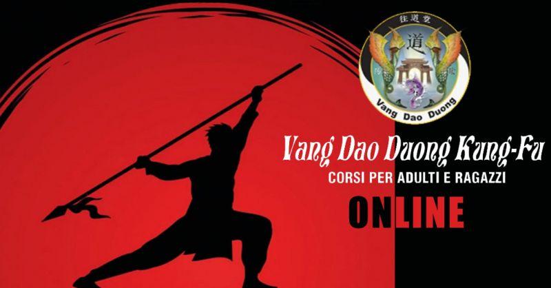 Offerta scuola kung fu lezioni online Carate brianza – promozione palestra lezioni online Carate brianza