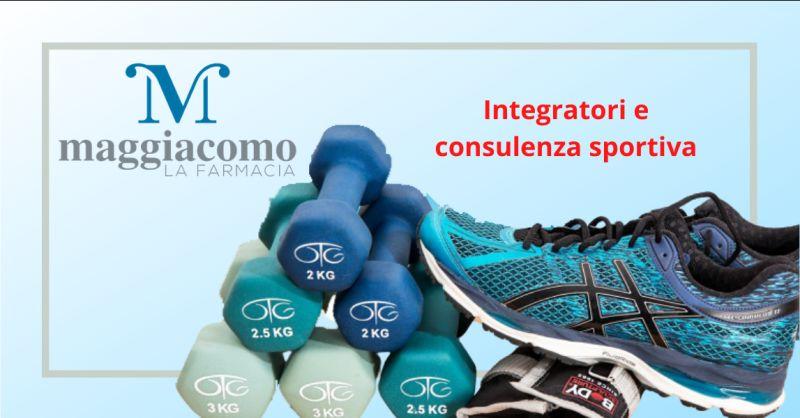 offerta vendita integratori per lo sport latina - occasione consulenza sportiva cisterna latina