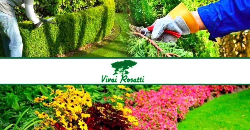 offerta servizio di giardinaggio professionale - occasione manutenzione giardini e aree verdi