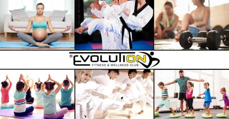 Offerta corsi palestra per bambini ragazzi - occasione corsi fitness per la famiglia Povegliano