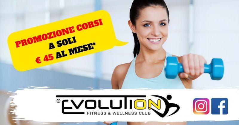 Offerta corsi palestra in promozione Verona - occasione offerte abbonamenti palestra Povegliano