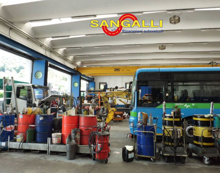 OFFICINA SANGALLI SRL offerta riparazioni veicoli industriali mezzi pesanti