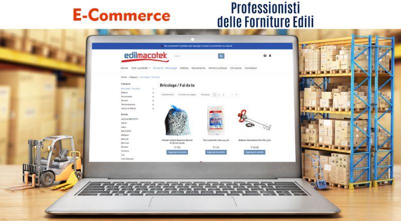 Offerta e-commerce per edilizia Taranto – Promozione ordinare online materiale edile Taranto