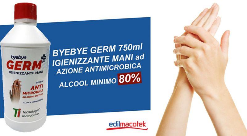 Offerta gel igienizzante mani antimicrobico – Promozione gel igienizzante Byebye Germ