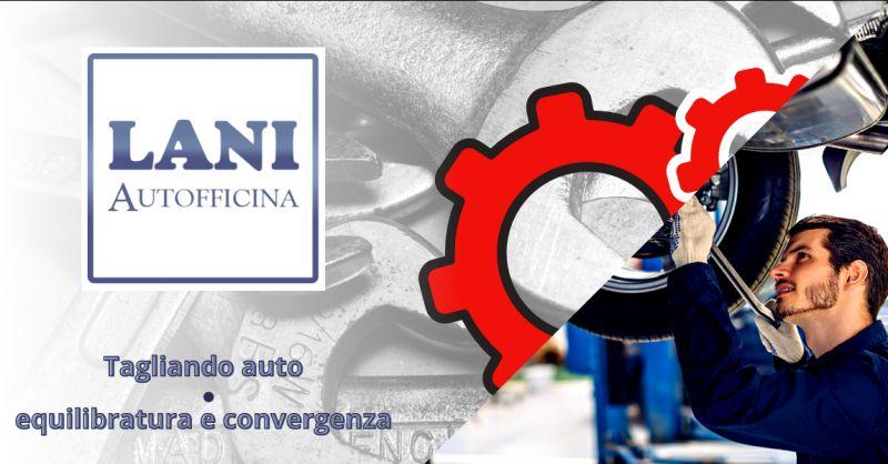 Offerta officina tagliando auto Aprilia - occasione equilibratura e convergenza nettuno