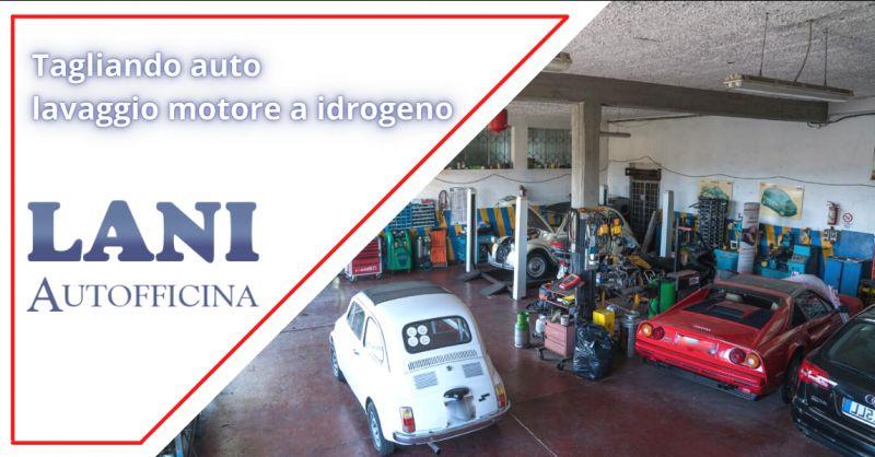 Offerta lavaggio motore a idrogeno Nettuno  - occasione servizio tagliando auto Cisterna Latina