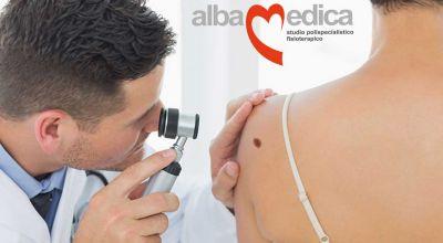 offerta visita dermatologica grottaferrata promozione dermatologo albano laziale