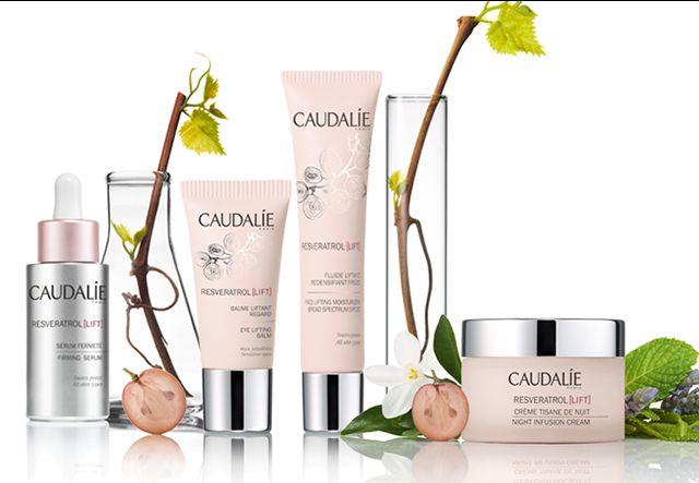 Caudalie trattamenti viso Premier Cru Vinoperfect Resveratrol lift bellezza rughe
