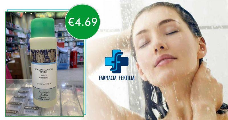 FARMACIA FERTILIA - offerta doccia shampoo sport dermopurificante  e deodorante