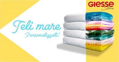 giesse store online offerta telo mare personalizzato in spugna di cotone beach towel