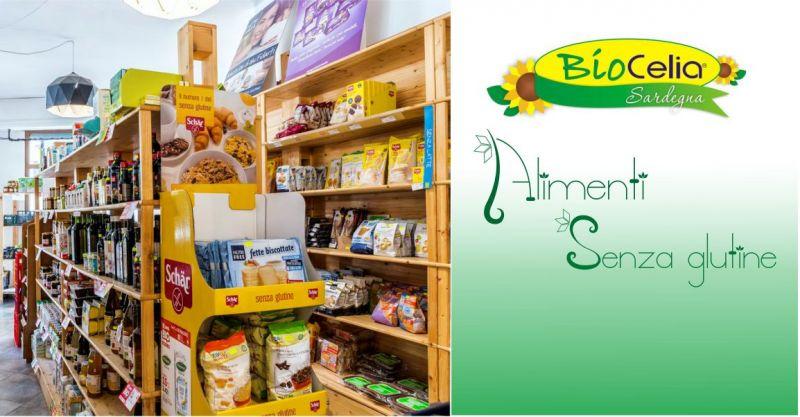Biocelia Sardegna - offerta Market convenzionato ASL  alimenti senza glutine per celiaci