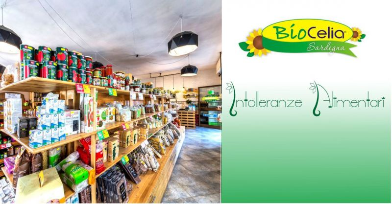 Biocelia Sardegna - offerta Market specializzato vendita prodotti intolleranze alimentari