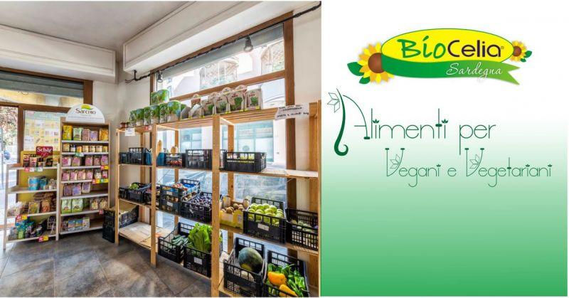 Biocelia Sardegna - offerta Market specializzato vendita prodotti alimenti vegani e vegetariani