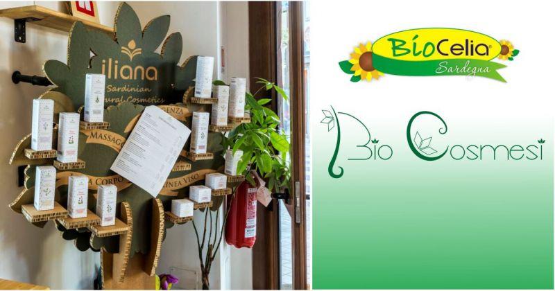 Biocelia Sardegna - offerta Market specializzato vendita prodotti bio cosmesi viso e corpo