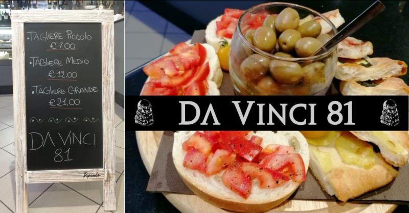 Bar Caffetteria Da Vinci 81 Quartu - offerta aperitivo con tagliere