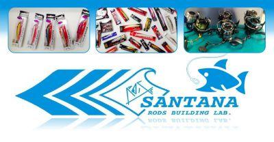 santana rods building lab offerta esche pesca sportiva