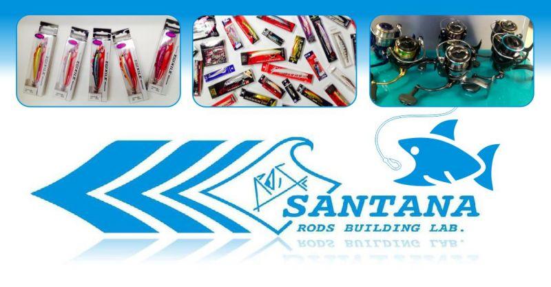 SANTANA RODS BUILDING LAB - offerta esche pesca sportiva