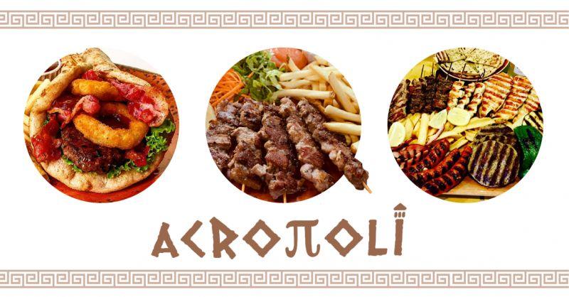 offerta ristorante cucina greca ancona - occasione fast food piatti greci ancona