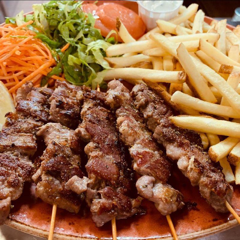 offerta ristorante cucina tipica greca ancona - occasione suvlaki ancona