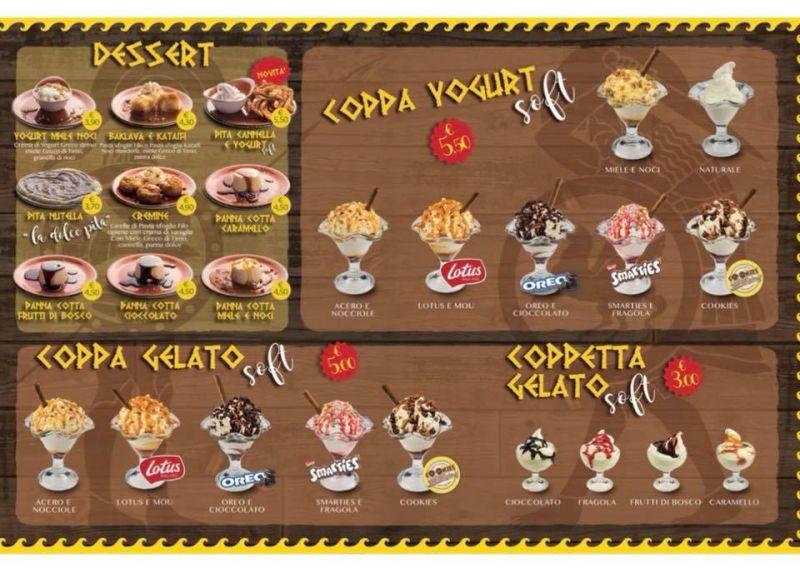 offerta Gelateria Yoghurteria Ancona - Gelati Yoghurt Gelato Soft Ancona